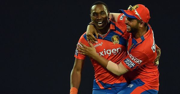 Big blow for Gujarat Lions as Dwayne Bravo ruled out of IPL 10