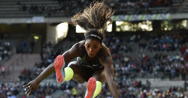 IAAF Continental Cup: Triple jumper Ibarguen gives Americas lead on day one
