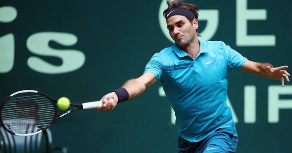Roger Federer survives Paire scare to keep quest for 10th Halle title alive