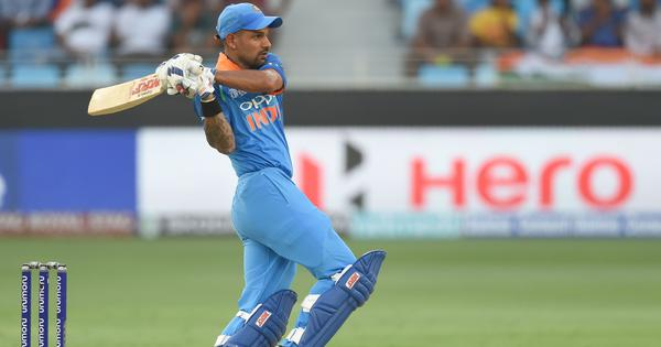 It wasn't a question of form: Shikhar Dhawan  happy to be back among runs after Asia Cup ton