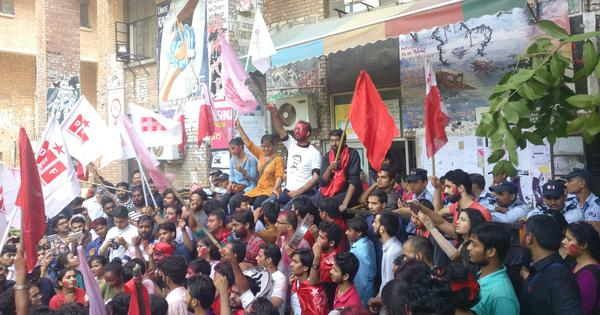 'Let them go to court': Left Unity celebrates after  trouncing ABVP 4-0 in JNU polls