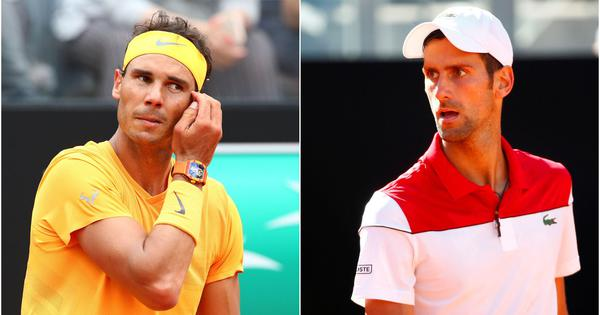Djokovic one of the candidates to win French Open, says Nadal