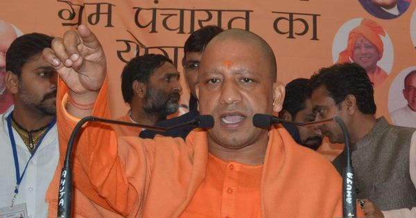Watch: Instead of pulling up cow vigilantes, Adityanath says 'mere sloganeering is not enough'