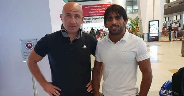 Wrestling: WFI hands contract extension to Bajrang Punia's coach Shako Bentinidis till 2020 Olympics