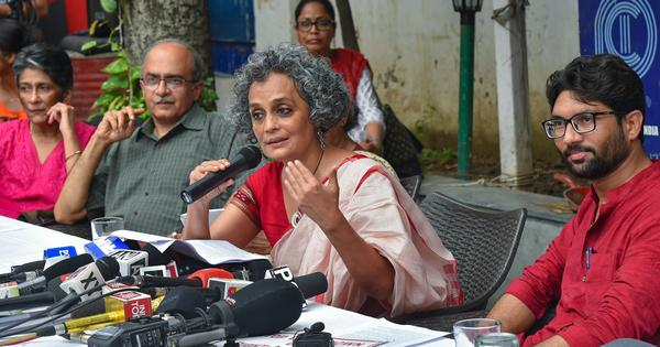 Arundhati Roy: #Me Too Urban Naxal