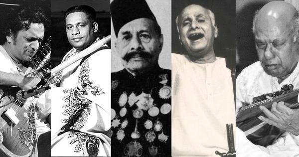 Explore the complex Gaud Saarang raag through performances by Ravi Shankar, Ali Akbar Khan and more