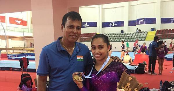 After missing World C'ships, coach Nandi hopes injured Dipa Karmakar will recover by November end