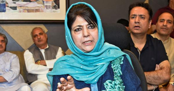 Reinstate Kashmiri students suspended by AMU, withdraw sedition charges against them: Mehbooba Mufti
