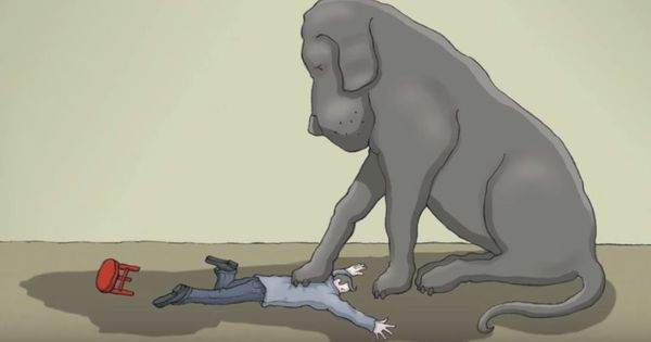 Video: What it means to live with the black dog called depression