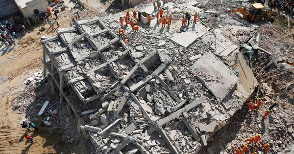 Greater Noida building collapse: Toll rises to nine, search operation underway