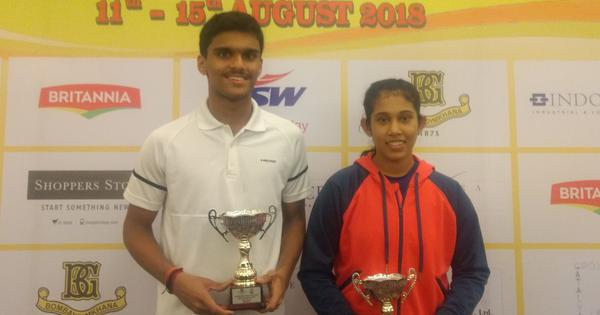 Squash: Yash Fadte and Sanya Vats win titles at Indian Classic Junior Open