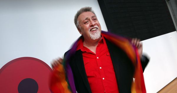 Gilbert Baker, who designed the iconic gay rights rainbow flag, dies at 65