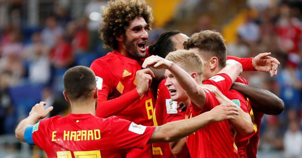 Football: Belgium join World Champions France at the top of Fifa rankings