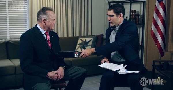 Watch: Sacha Baron Cohen dupes US politician Roy Moore with a 'paedophile detector'