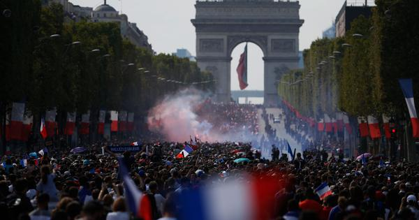 Packed Champs Elysees, victory parade, presidential reception: World Cup champs France return home