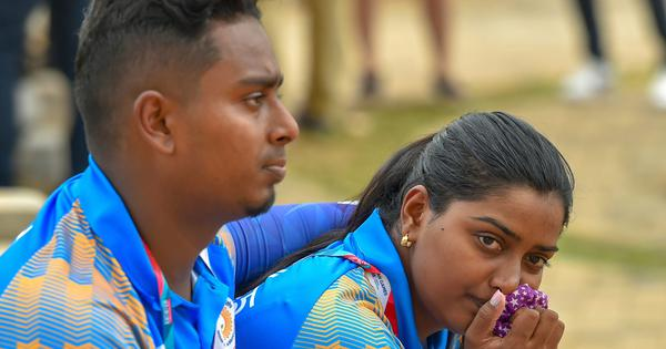 Archery: Atanu Das, Deepika Kumari exit in first round of mixed pair event in Japan