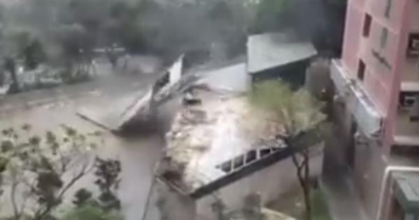Watch these unbelievable scenes as Typhoon Mangkhut battered the Philippines and Hong Kong