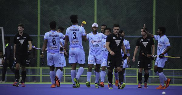 Hockey: Rupinder Pal Singh's brace helps India defeat New Zealand 4-2