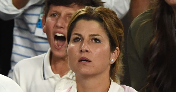 Mirka Federer criticised after jeeringly whistling at husband Roger's opponent Nick Kyrgios