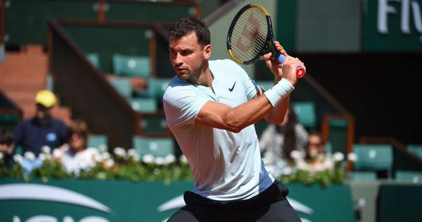 French Open, day 1 men's roundup: Dimitrov tops Egyptian lucky loser Safwat, Dzumhur, Albot advance