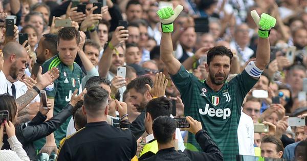 Grazie, Buffon: After 656 games, the Italian legend bids tearful goodbye to Juventus