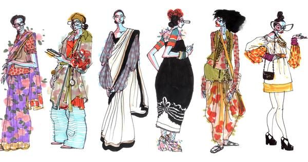 Indian illustrators are telling the inclusive fashion stories that photographers often don't