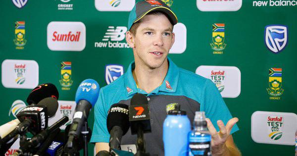'We aren't going to be the nicest team ever': Australia captain Tim Paine ahead of England tour