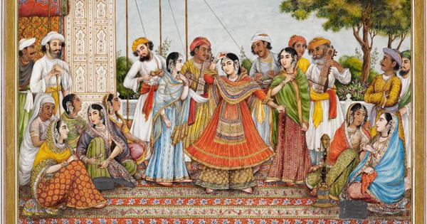 When an Englishwoman visited Mughal courts and transcribed their music in Western-style notation