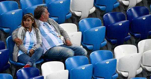 'They really humiliated us this time': Argentina fans heartbroken over Croatia defeat