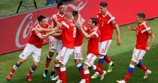 World Cup, Russia vs Egypt – as it happened: Hosts all but through to last-16, Pharaohs exit