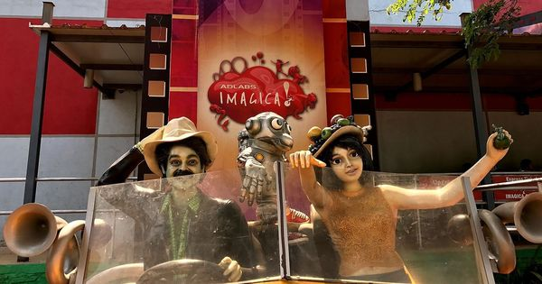 Searching for Bollywood at the Imagica theme park, we ran into Mogambo