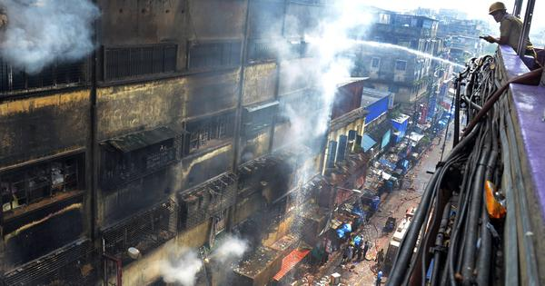Kolkata: Fire at Bagri Market finally brought under control after three days