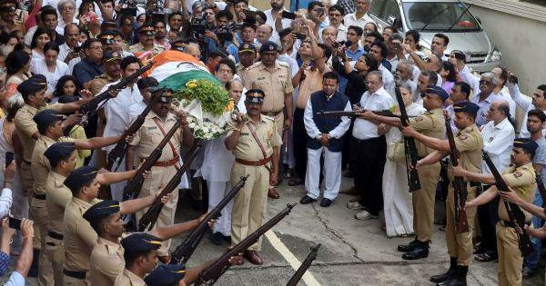 Former India captain Ajit Wadekar cremated in Mumbai with full state honours