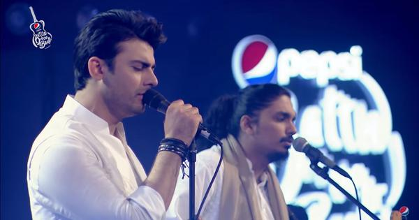 Watch: Fawad Khan returns as a musician with his band on the Pakistani show 'Battle of the Bands'