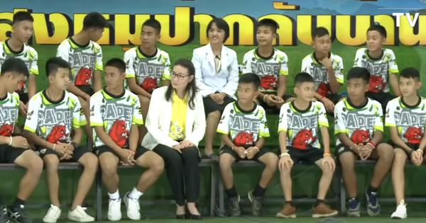 Watch: Young Thai footballers recount their time inside the cave, events from the rescue mission