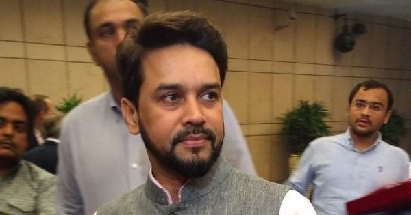 Bharatiya Janata Party appoints Anurag Thakur its chief whip in Lok Sabha