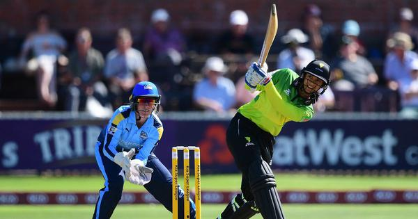 Smriti Mandhana's dream run in Women's Super League continues, smashes first T20I century