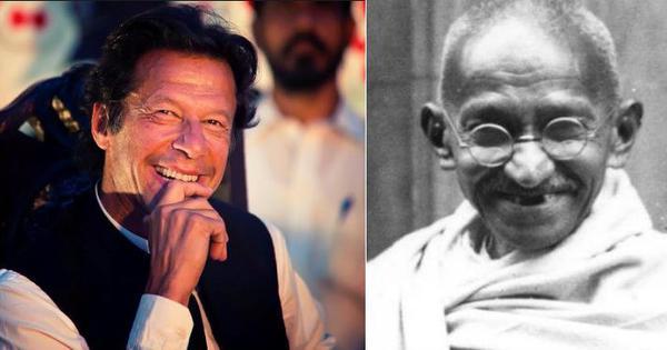 इमरान खान ने हाल ही में जो किया है ठीक वैसा ही करने की सलाह कभी गांधीजी ने माउंटबेटन को दी थी