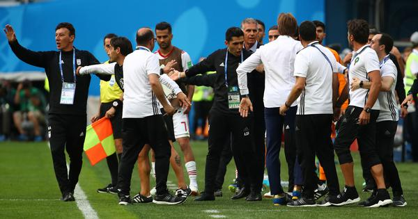 World Cup: Iran staff member taken to hospital after Spain defeat