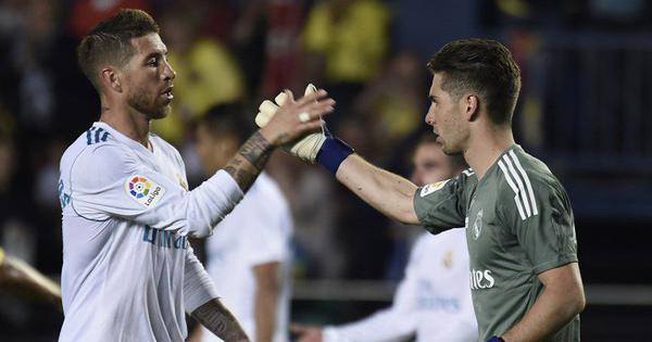 Zinedine Zidane's son Luca makes Real Madrid debut in 2-2 draw against Villarreal