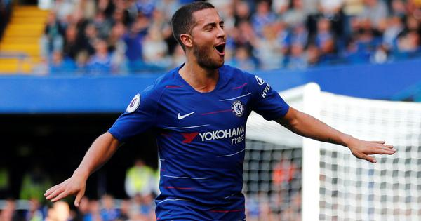 I am tired but enjoying myself at Chelsea, says Eden Hazard
