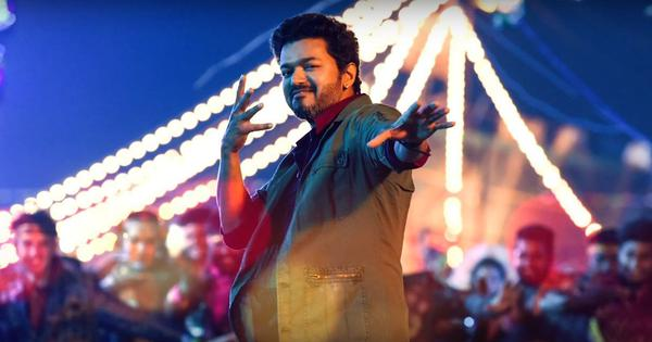 'Simtaangaran' song from 'Sarkar' heaps praises on Vijay in Chennai Tamil