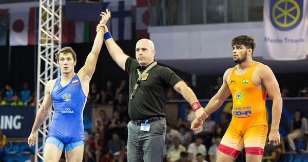 Sajan Bhanwal, India's young Greco-Roman hope, carries the dreams of a family and a nation