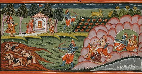 Adiya Ramayana: An oral tradition of Wayanad sees the main figures of the epic as tribals