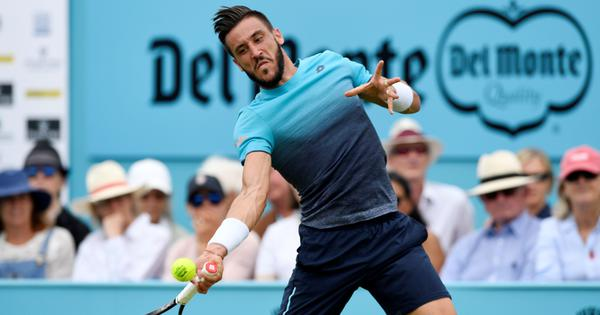 St Petersburg Open: Defending champion Dzumhur wins opener, Struff knocks out Rublev
