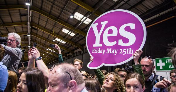 'Modern laws for a modern people': Ireland votes overwhelmingly to repeal anti-abortion law