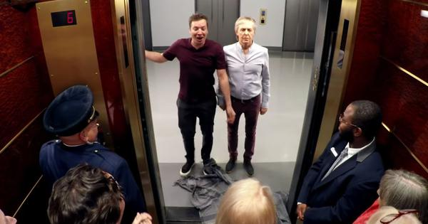 Watch: Paul McCartney surprised fans riding in a lift and singing The Beatles' 'Drive My Car'