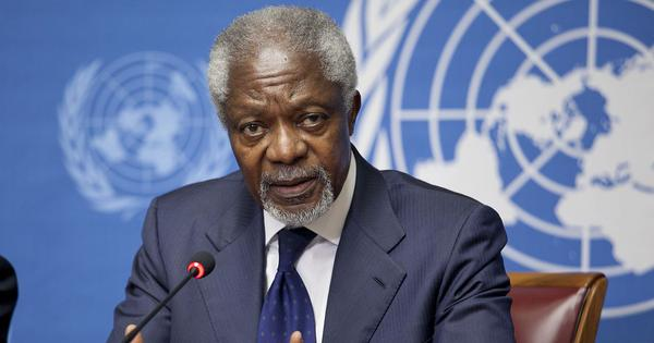Kofi Annan: A complicated legacy of impressive achievements, and some profound failures