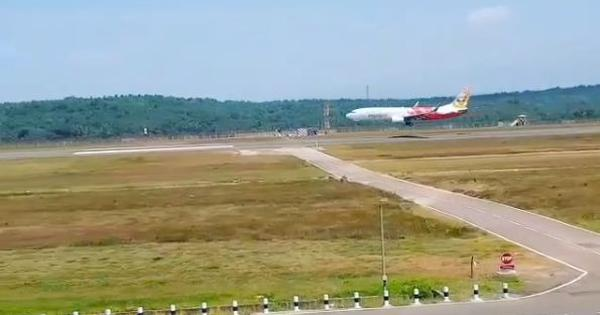 Watch: First passenger aircraft lands at the new Kannur International Airport in Kerala