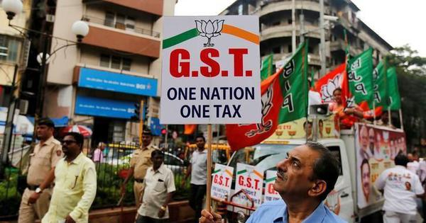 GST collection drops to Rs 97,637 crore in November